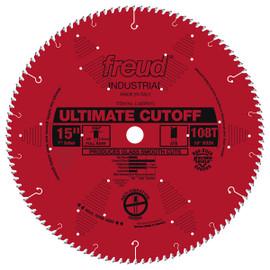 "Freud LU85R015 - 15"" Ultimate Cut-Off Blade"