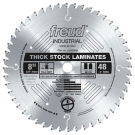 "Freud LU92M008 - 8"" Thick-Stock Laminate Blade"