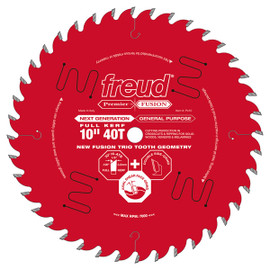 "Freud P410 - 10"" Next Generation Premier Fusion General Purpose Blade"
