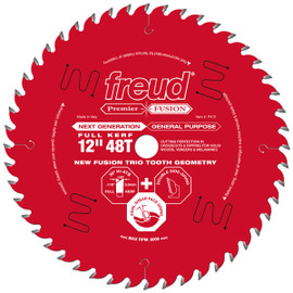 "Freud P412 - 12"" Next Generation Premier Fusion General Purpose Blade"