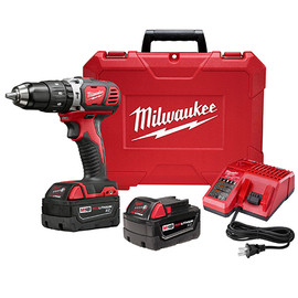 "Milwaukee 2607-22 - M18™ 1/2"" Compact Hammer Drill/Driver Kit"