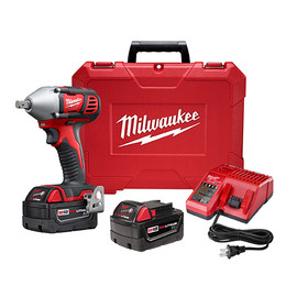 """Milwaukee 2659-22 - M18™ 1/2"""" Impact Wrench Kit with Pin Detent"""