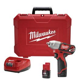 "Milwaukee 2463-22 - M12™ 3/8"" Impact Wrench Kit"