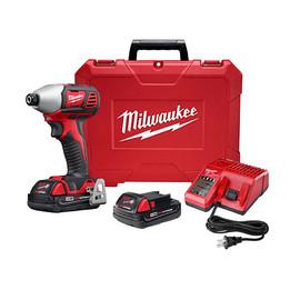 """Milwaukee 2657-22CT - M18™ 2-Speed 1/4"""" Hex Impact Driver Kit"""