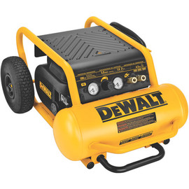 DeWALT D55146 - 1.6 HP Continuous, 200 PSI, 4.5 Gallon Compressor