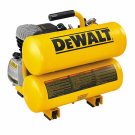 DeWALT D55153 - 1.1 HP Continuous 4 Gallon Electric Hand Carry Compressor