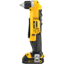 "DeWALT DCD740C1 - 20V MAX* Lithium Ion 3/8"" Right Angle Drill/Driver Kit (1.5 Ah)"