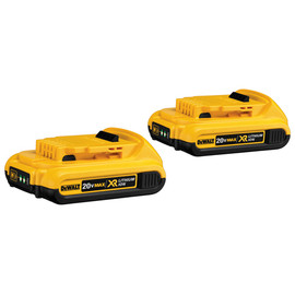 DeWALT DCB203-2 - 20V MAX* Compact XR Lithium Ion 2-Pack