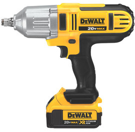 "DeWALT DCF889HM2 - 20V MAX* Lithium Ion 1/2"" High Torque Impact Wrench Kit"