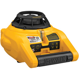 DeWALT DW074KD - Self-Leveling Int/Ext Rotary Laser Kit