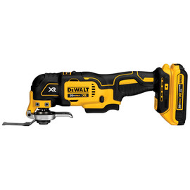 DeWALT DCS355D1 - 20V MAX* XR Lithium Ion Oscillating Multi-Tool Kit