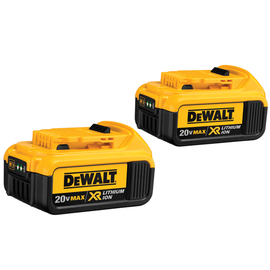 DeWALT DCB204-2 - 20V MAX* Premium XR Lithium Ion 2-Pack