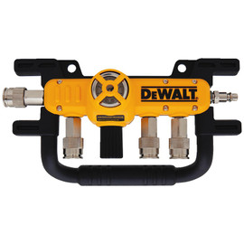 "DeWALT D55040 - 1/4"" Quadraport Air Line Splitter with Regulator"