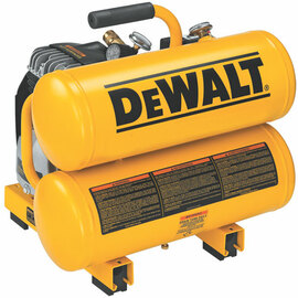 DeWALT D55151 - 2 HP Elec, 4 gal, Hand Carry, Twin tanks, 14 Amps