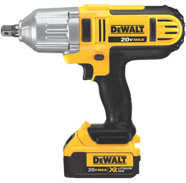 "DeWALT DCF889M2 - 20V MAX Li-Ion 1/2"" HT Impact Wrench (Detent Pin) (4.0Ah) w/ 2 Batteries and Bag"