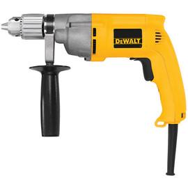 """DeWALT DW245 - 1/2"""" VSR 0-600 rpm Drill 7.8A Keyed Chuck"""
