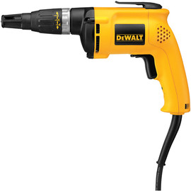 "DeWALT DW255 - VSR 0-5,300 rpm Drywall Screwdriver 60""/lb, 6.0A"