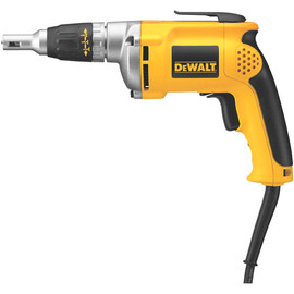 "DeWALT DW272W - VSR 0-4,000 rpm Drywall Screwdriver 81""/lb 6.3A w/ 50' whip"
