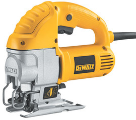 DeWALT DW317K - VS Compact Jig Saw 5.5 Amp - Keyless w/ Bag