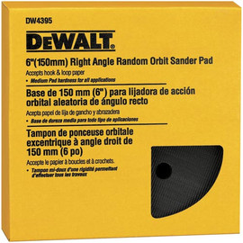 "DeWALT DW4395 - 6"" hook & loop pad, medium (DW443)"