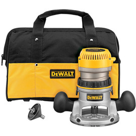 DeWALT -  1 3/4 Maximum Motor HP Fixed Base Router Kit - DW616K