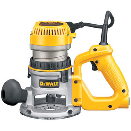 DeWALT -  2 1/4 Maximum Motor HP Electronic VS D-Handle Router w/ Soft Start - DW618D