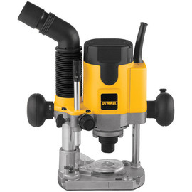 DeWALT -  2 HP Electronic VS Plunge Router w/dust extraction - DW621