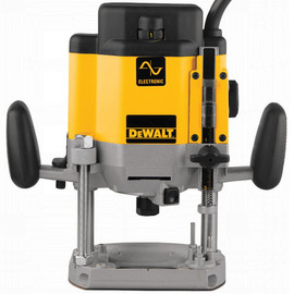 DeWALT -  3 HP Electronic VS Plunge Router - DW625