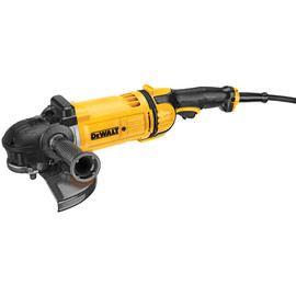 "DeWALT DWE4559CN - 9"" LAG w/ Guard, 6,500 rpm, 4.7HP (No Lock on Switch), Cover"