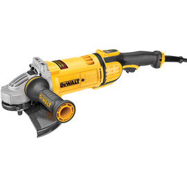 "DeWALT DWE4599N - 9"" LAG w/ Guard, 6,500 rpm, 4.9HP (No Lock on Switch)"