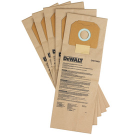 DeWALT DWV9401 - Paper Dust Bag - 5 Pack