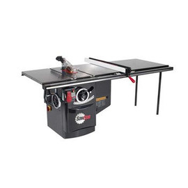 SawStop -  480V Three Phase 7.5 HP 9 Amp Industrial Cabinet Saw with 52 in. T-Glide Fence System - ICS73480-52
