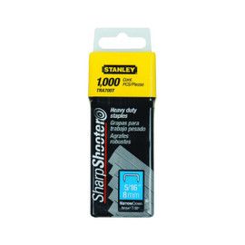 Stanley -  5/16 Inch Heavy Duty Staples, Pack of 1000 - TRA705T
