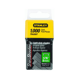 Stanley -  1000 Units 5/16-Inch Light Duty Staples - TRA205T