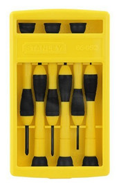 Stanley -  6-Piece Precision Screwdriver Set - 66-052
