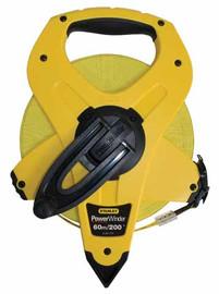 Stanley -  Fibreglass Powerwind Tape 60m/200ft - 34-774