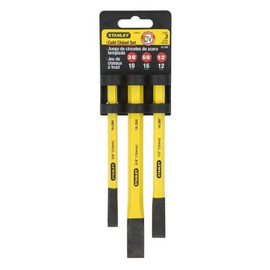 Stanley -  Cold Chisel Kit, 3-Piece - 16-298