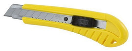 Stanley -  6-3/4-Inch 18mm Standard Snap-Off Knife - 10-280