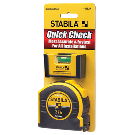 Stabila 11927 - Quick Check Pocket Pro Plus 27' Tape