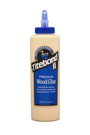 Titebond 5004 - Titebond II Premium Wood Glue, 16-Ounce Bottle