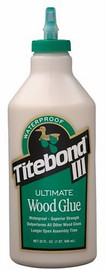 Titebond -  Titebond III Ultimate Wood Glue, 32-Ounce Bottle - 1415