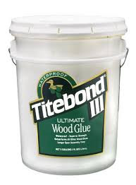 Titebond 1417 - Titebond III Ultimate Wood Glue, 5 Gallon Pail