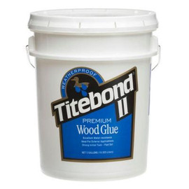 Titebond 5007 - Titebond II Premium Wood Glue, 5 Gallon Pail