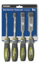 Samona/ROK -  4Pc Wood Chisel Set () - 70460