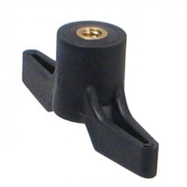 "Samona/ROK -  Knob TThrough Hole 1/4"" Thread - 44126"