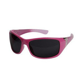 Edge Eyewear HM456-A1 - Women's Mayon Aurora Safety Glasses (PINK LACE)
