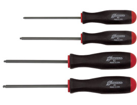 Bondhus -  Screwdriver Set - Square Recess, #0-3, 4 Pc - 11640
