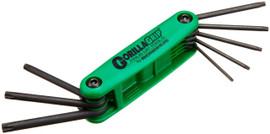 Bondhus -  Fold-up Tool Set - Tamper Resistant Tip, TR9-TR40, 8 Pc - 12638