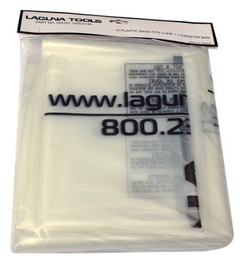 Laguna -  10 Plastic bags for cyclone dust collectors with 2 - 3 HP - PB