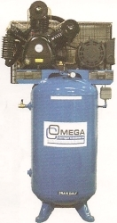 Omega -  7.5 HP Horizontal Compressors - Two Stage - TFA063